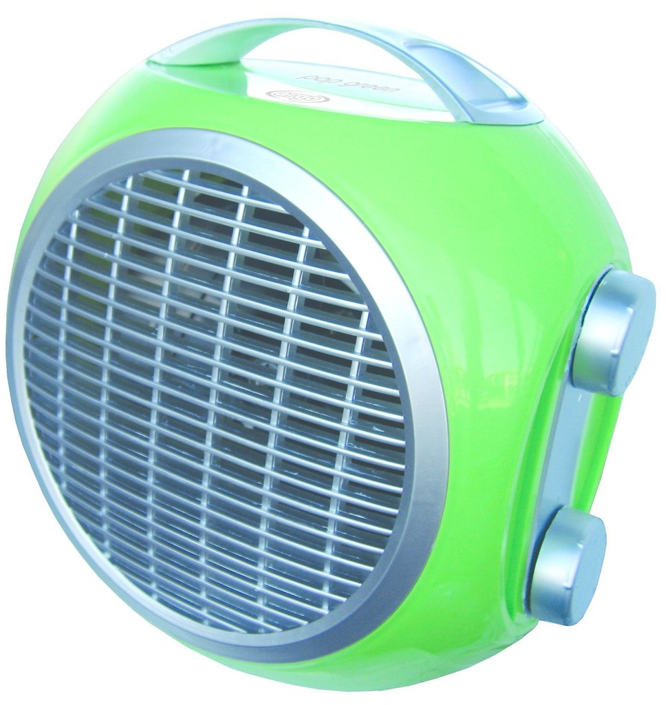 Termoventilatore Argo POP Green 191070144 Termostato Regolabile Verde
