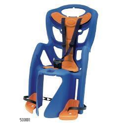 Bellelli Seggiolino Bici Pepe Posteriore Portapacchi Blue M00001