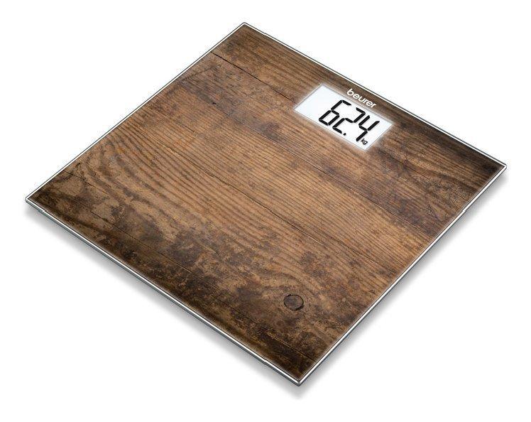 Pesapersone Gs203 - Wood Di Colore Marrone - Portata 150 Kg _Cod. 9029542_Beurer