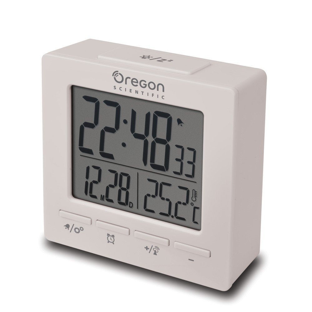 Sveglia Rm-511W Con Diplay Digitale Colore Bianco_Cod. 9030165_Oregon Scientific