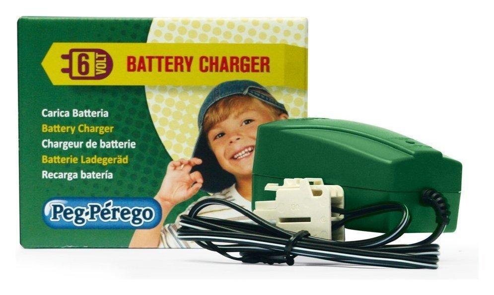Trasformatore caricabatteria ricambio per veicoli Peg Perego 6 volt CB0301