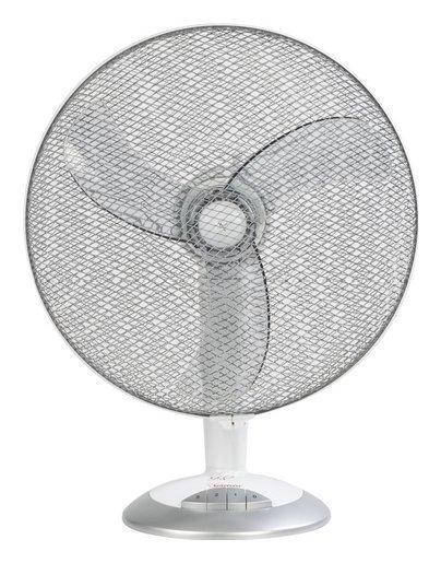 Ventilatore VT45 da tavolo 38,5 cm 57.80dB(A) Auto Oscillante Grigio - Bianco Cod.9030446 - Bimar