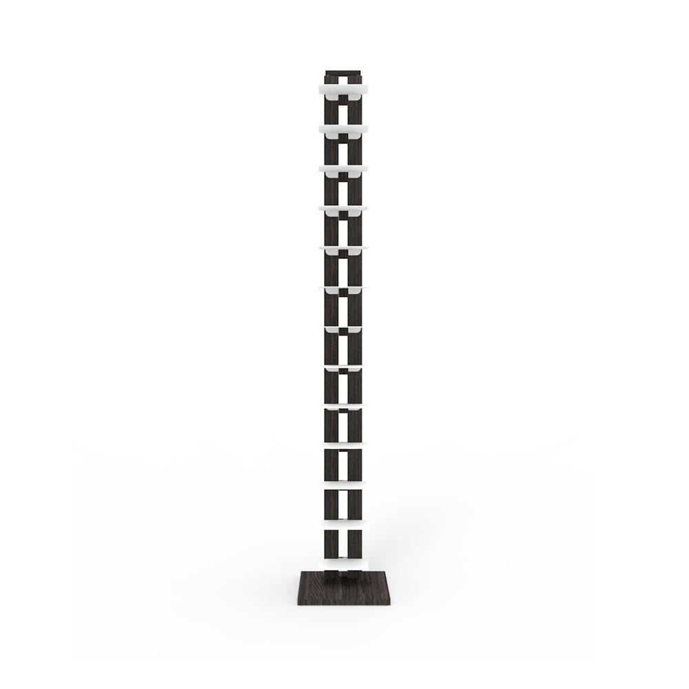 Zia Ortensia    bibliothèque à colonne   h 195 cm   noire