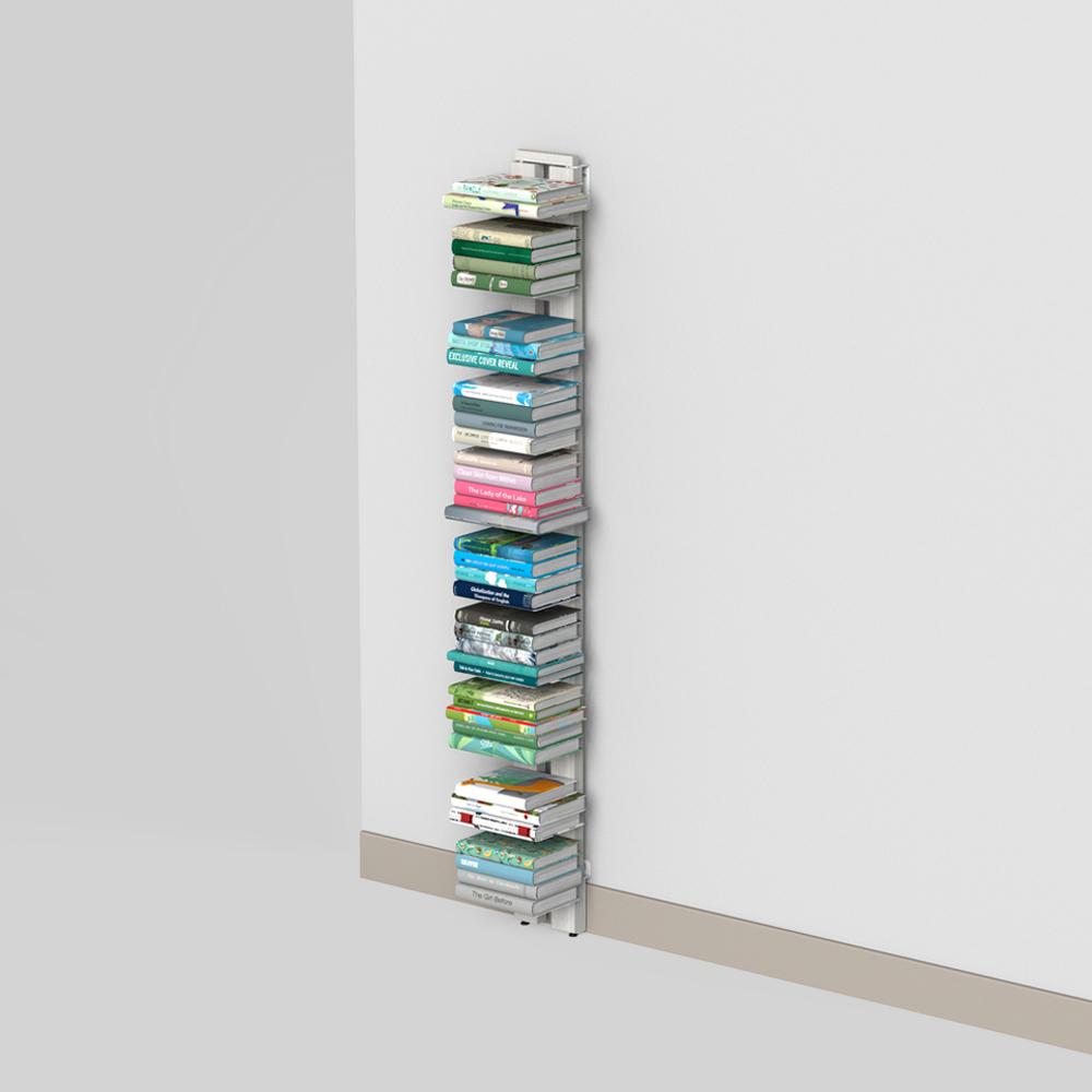 Zia Ortensia | bibliothèque à mur | h 150 cm | blanc