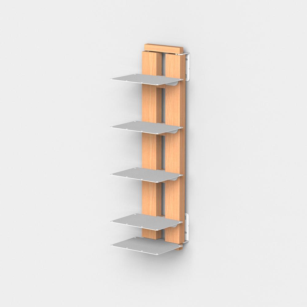 Zia Ortensia |  bibliothèque suspendue | h 60 cm