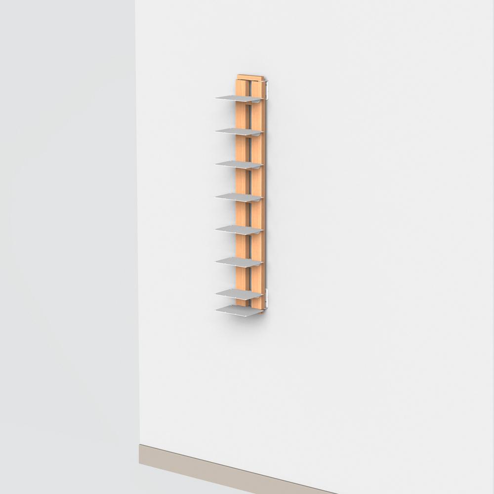 Zia Ortensia |  bibliothèque suspendue | h 105 cm