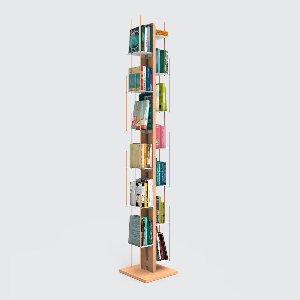 Zia Veronica | bibliothèque à colonne | h 195 cm