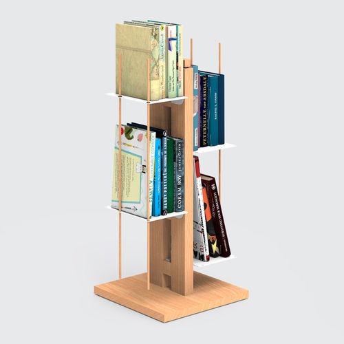Zia Veronica | libreria a colonna | h 60 cm | naturale