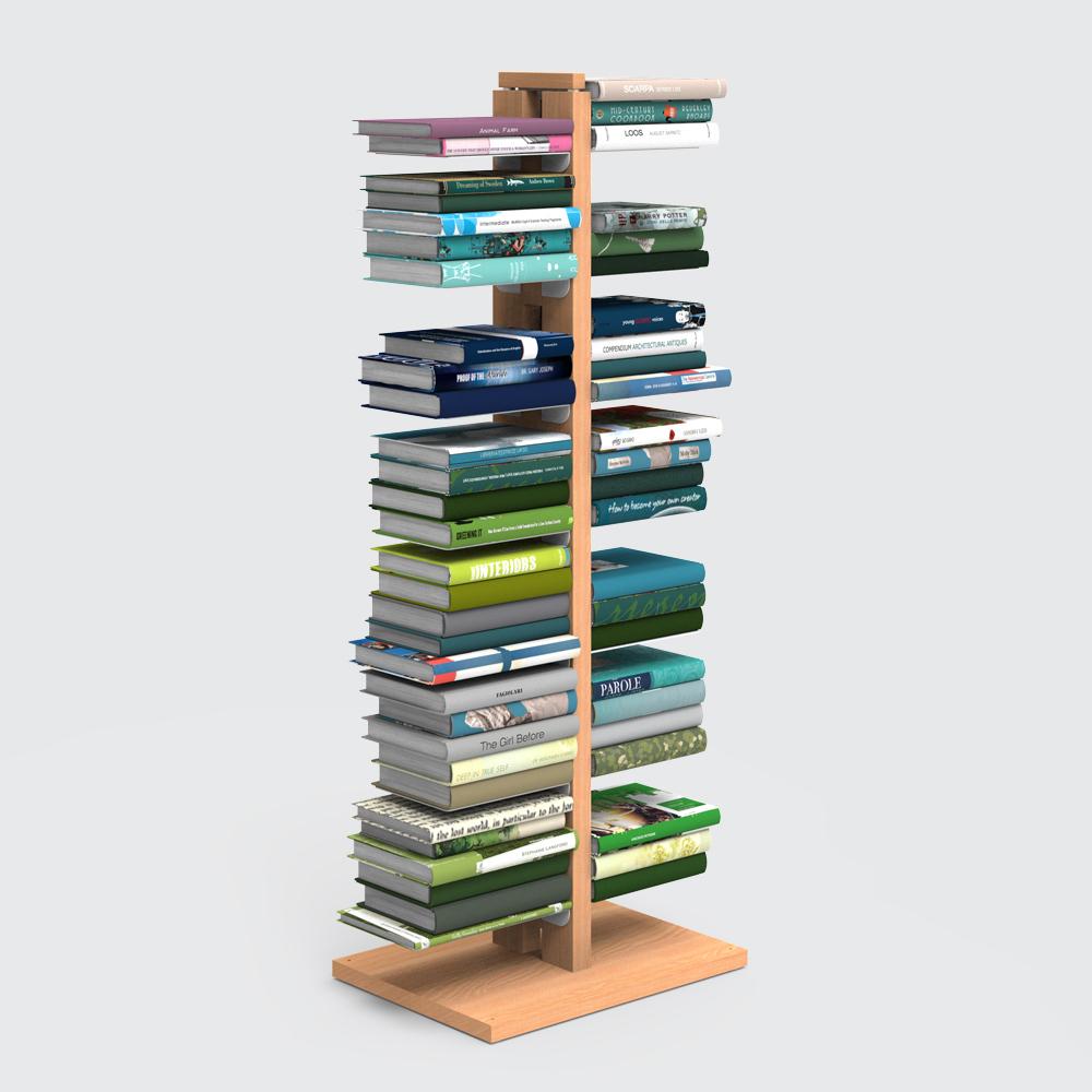 Zia Bice | libreria a colonna | h 105 cm