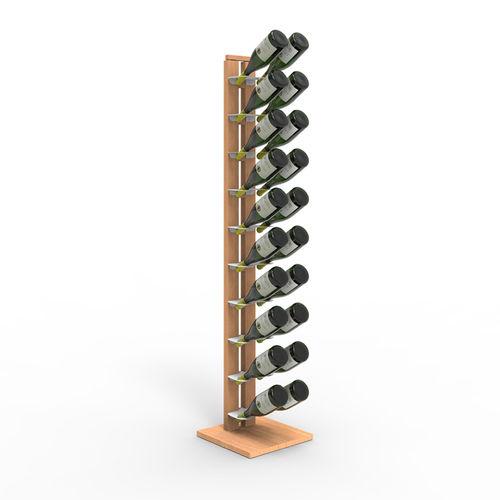 Zia Gaia | Column bottle rack with single shelves | h 150 cm