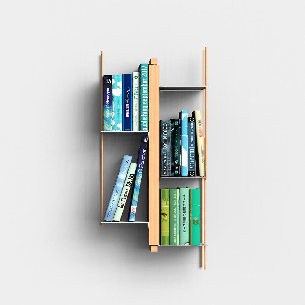 Zia Veronica |  bibliothèque sospendue | h 60 cm