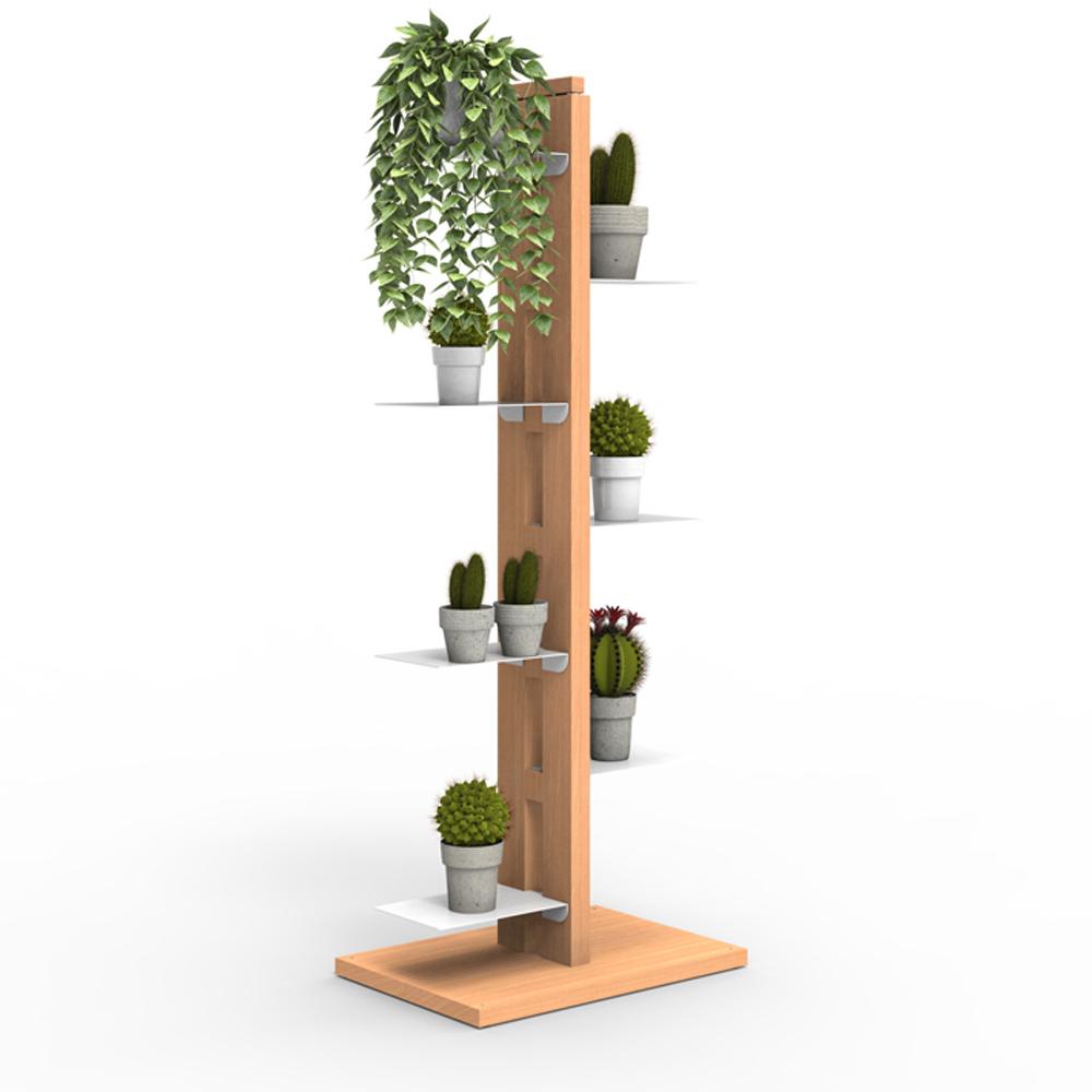 Zia Flora | porte plantes à colonne | h 105 cm