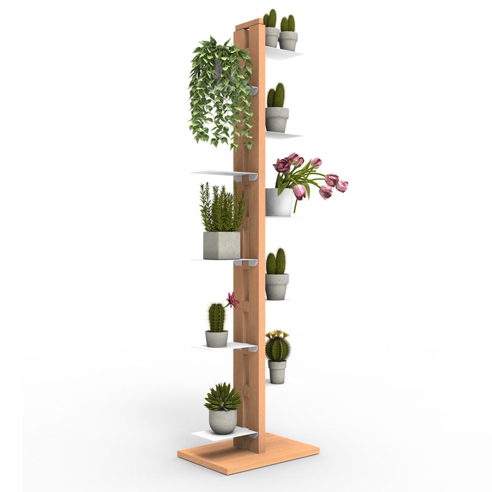 Zia Flora | porte plantes à colonne | h 150 cm