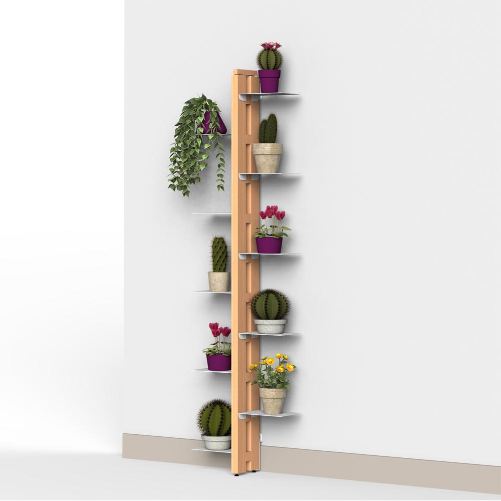 Zia Flora | porte plantes à mur | h 150 cm
