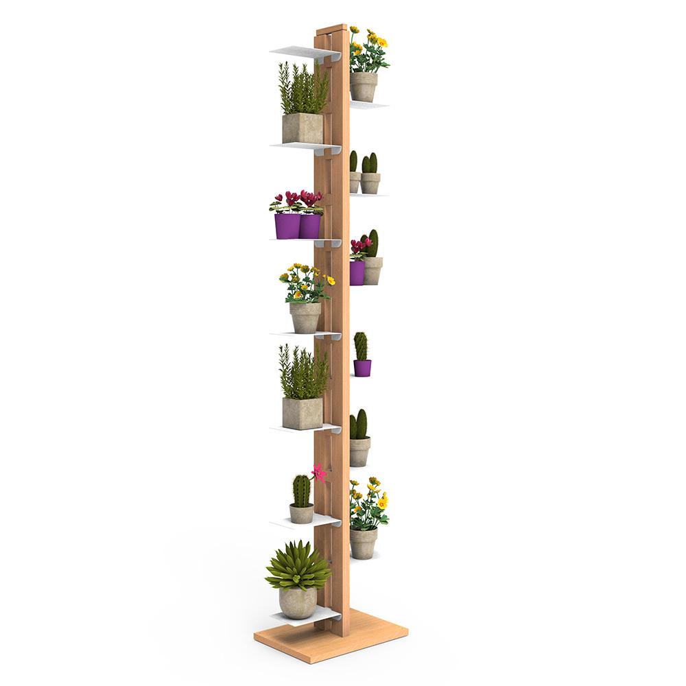 Zia Flora | porte plantes à colonne | h 195 cm