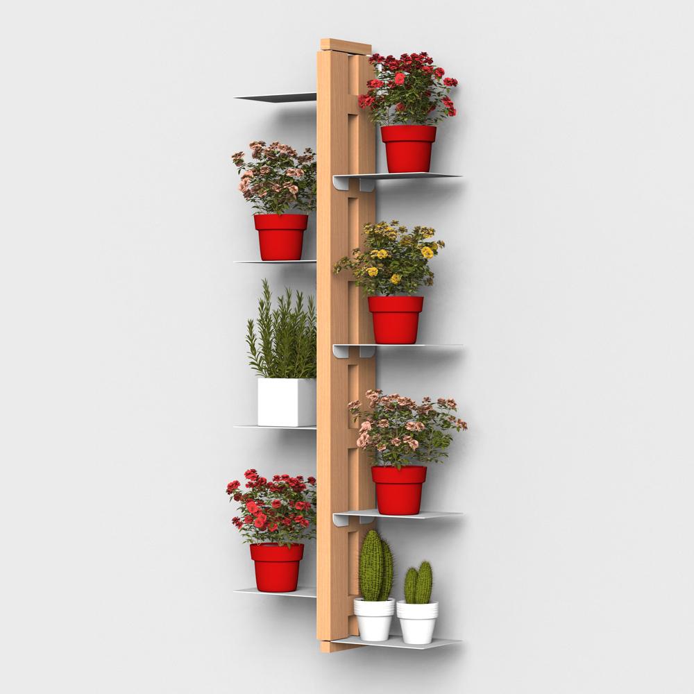 Zia Flora | porte plantes suspendue | h 105 cm