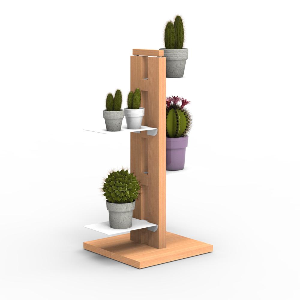 Zia Flora | porte plantes à colonne| h 60 cm
