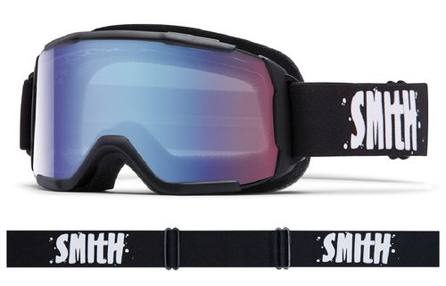 Maschera da Sci SMITH DAREDEVIL NERO S1 Graduabile