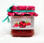 Apples,Strawberries and Raspberries jam