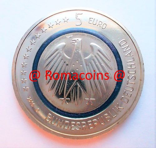 5 Euro Germania 2016 Pianeta Terra Moneta Unc