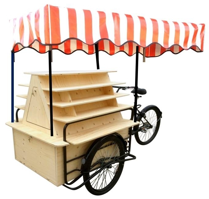 KIOSK DISPLAY STAND CARGO BIKE TRICYCLE