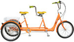 TANDEM CARGO BIKE TRICYCLE