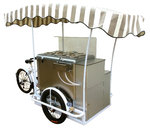 Ice Cream Cart DOLCE VITA 6 Flavors Battery 5 hous