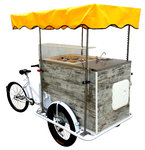 Ice Cream Cart VINTAGE 4+2 Flavors Battery 12 h
