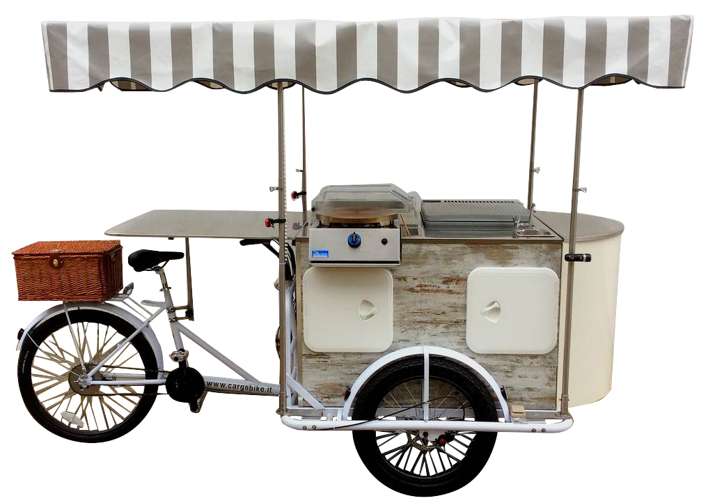 STREET FOOD BIKE VINTAGE REVIVAL CREPES