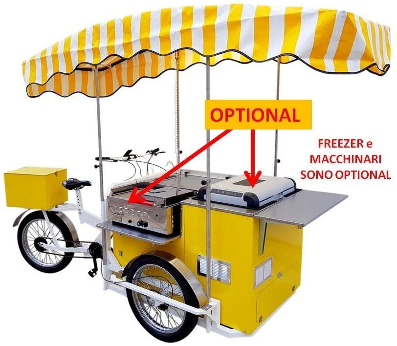 STREET FOOD BIKE QUADRA ATTILA BASIC