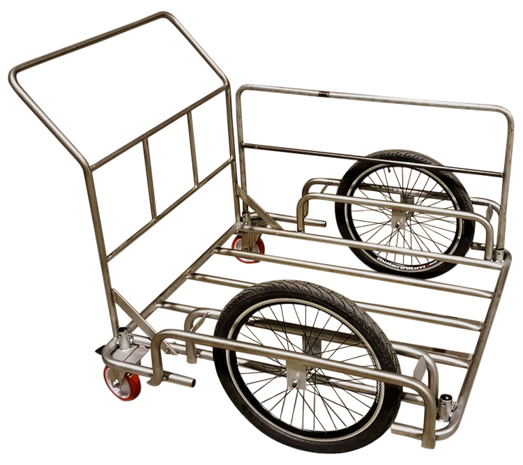 Monordik PUSH CART Stainless Steel