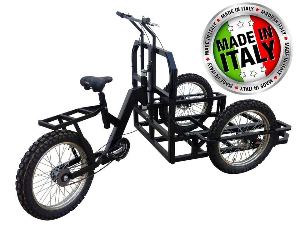 ATTILA HEAVY DUTY A90 XL Work Tricycle