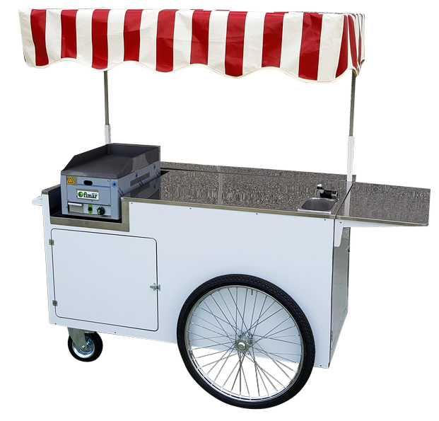 Einkaufswagen PUSH STREET FOOD PUSHING CART
