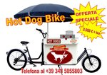 HOT DOG WAGON BIKE Bicicletta da Carico Lunga Cargo Bike
