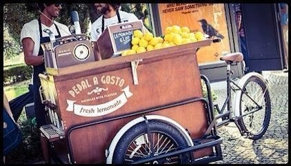 Pedal a Gosto, Triciclo Fruit Bar operante in Portogallo\\n\\n03/12/2015 23.33
