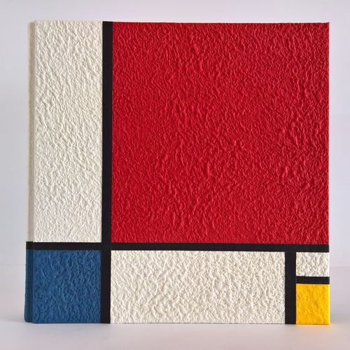 Photo album tribute to Piet Mondrian