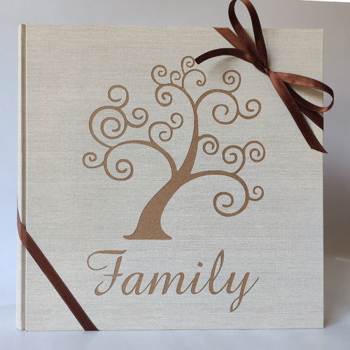 Photo album tree of Life and engraved name
