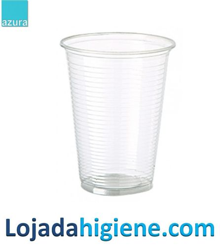 Vasos desechables transparentes 250 ml
