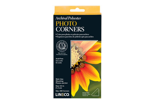 Lineco Archival Photo Corners 1,3cm