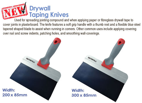 Faithfull Drywall Taping Knives
