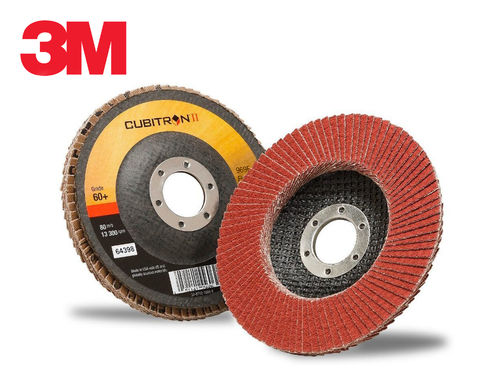 3M 969F Cubitron II Conical Type 29 Flap Disc 115mm