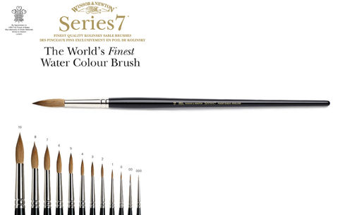 W&N Series 7 Kolinsky Sable Brush PROMO 15%