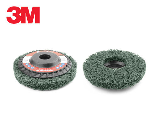 3M Scotch-Brite Clean & Strip Pro Extra Cut XC-RD Disc 115mm x 22mm