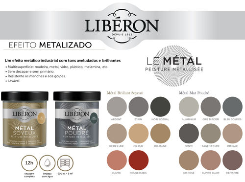 Liberon Metallic Effect Paint 500ml