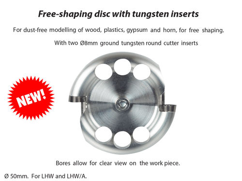 Proxxon Free-shaping disc with tungsten inserts