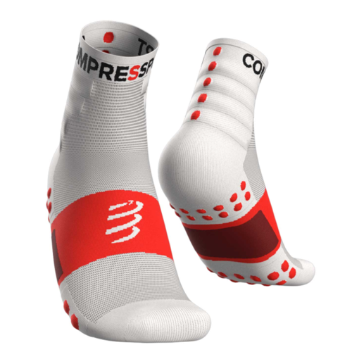 Compressport Training Socks White - Pack 2