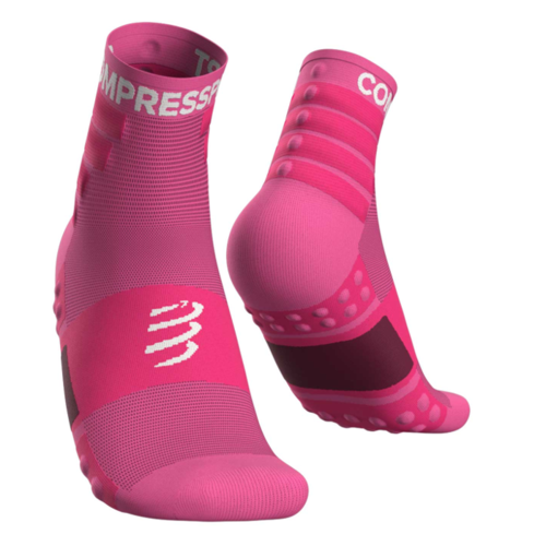 Compressport Training Socks Pink- Pack 2