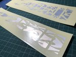 KL Sun Flames Guitar Fret Markers Inlay Sticker
