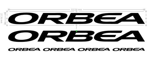 Orbea Vinyl Sticker Kit