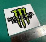 Autocolante Vinil Monster Energy